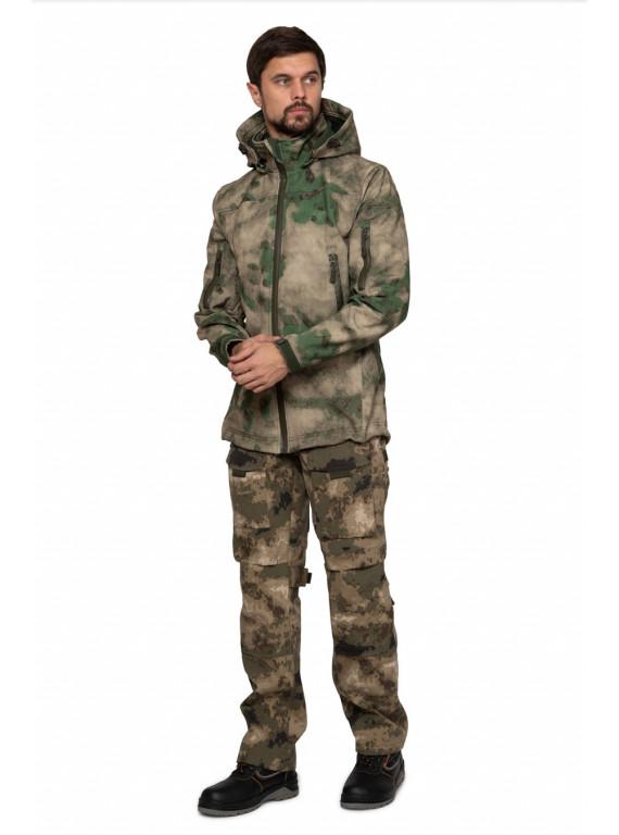 Куртка мужская Tactical КМФ Мох