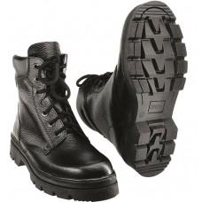 Ботинки утепленные нат. мехом кожаные ПИЛОТ