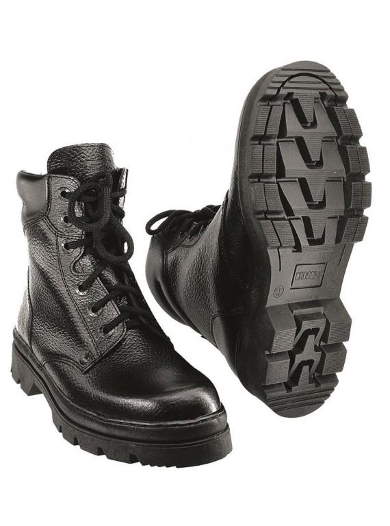 Ботинки утепленные иск. мехом кожаные ПИЛОТ