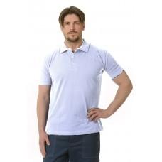 Рубашка Поло короткий рукав белая