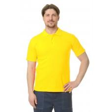 Рубашка Поло короткий рукав желтая