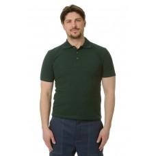Рубашка Поло короткий рукав зеленая
