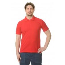 Рубашка Поло короткий рукав красная
