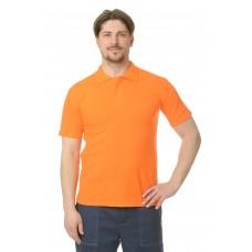 Рубашка Поло короткий рукав оранжевая