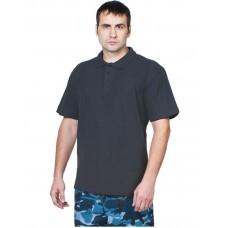 Рубашка Поло короткий рукав синяя
