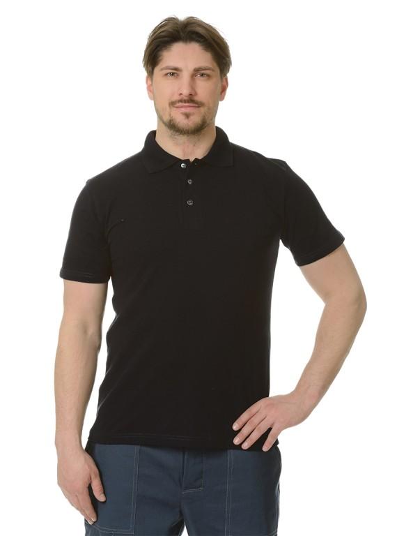 Рубашка Поло короткий рукав черная