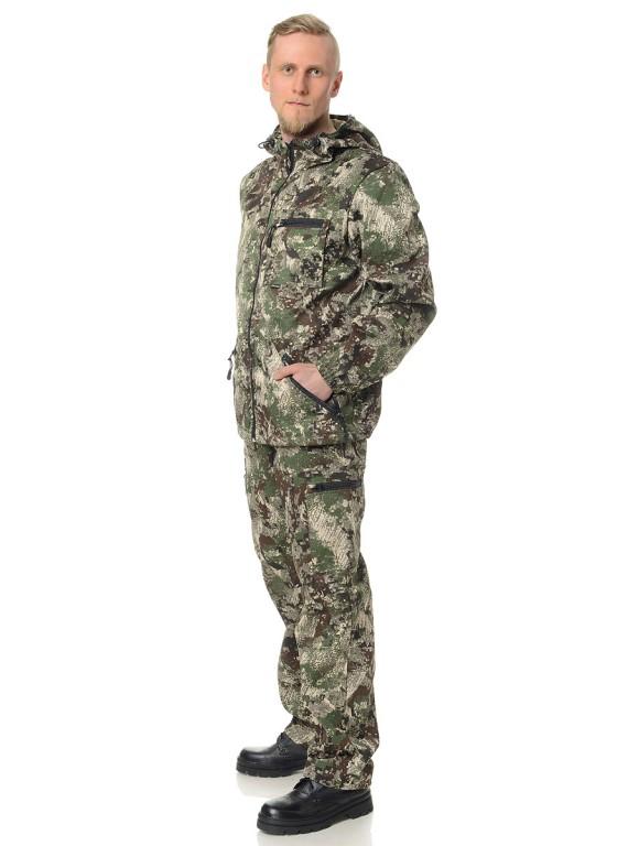 Костюм мужской Турист КМФ зеленая сетка