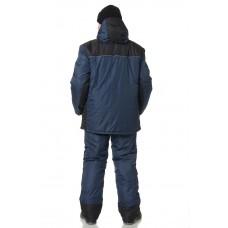 Костюм утепленный мужской Универсал синий/черный