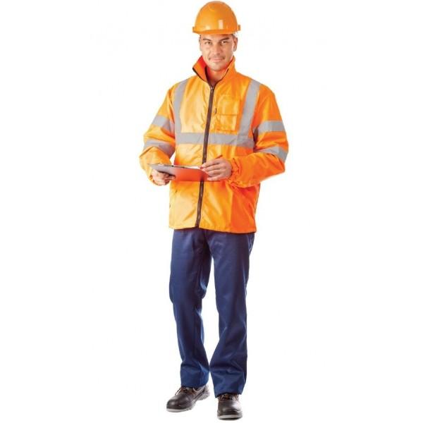 Куртка-ветровка Сигнал оранжевый