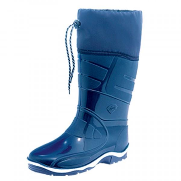 Сапоги женские ПВХ с надставкой 33.см голубые