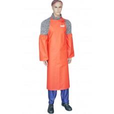Фартук рыбообработчика Fisherman's WPL оранжевый