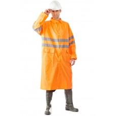 Плащ влагозащитный ГРОЗА оранжевый